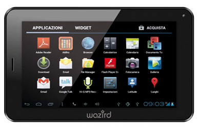 "Tablet 7"" Wazird Tablet PC TB-7 3G"